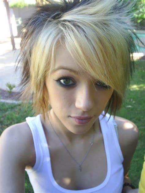 blonde emo hairstyles emo hannover 2012 blonde emo hairstyles long medium