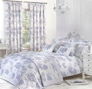 Bathroom Shower Curtains And Matching Accessories by Toile Luxury Bedding By Julian Charles In Blue Terrys