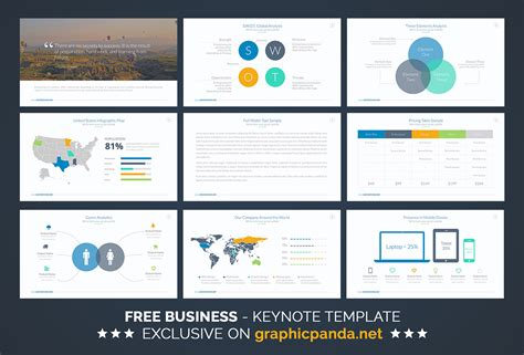 template keynote free free business keynote template on behance