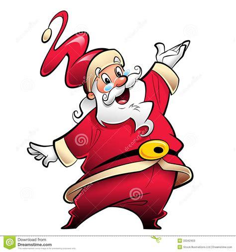 personaje de dibujos animados sonriente feliz de santa presentaci 243 n y wishi sonrientes felices del personaje de