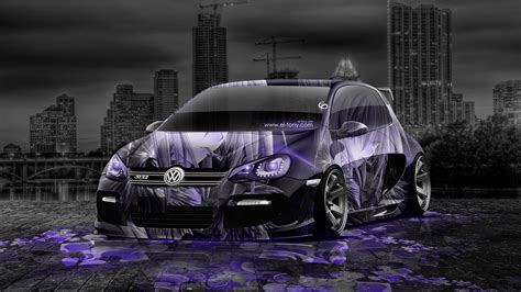 Cover Mobil Polos Custom City Car volkswagen golf tuning anime aerography city car 2014 el
