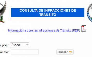 consultar infracciones de transito por placa colconectada tr 225 mites tareas e informaci 243 n de ayuda