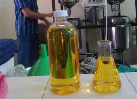 Minyak Goreng Jelantah bekas minyak goreng untuk curan mesin diesel okezone news