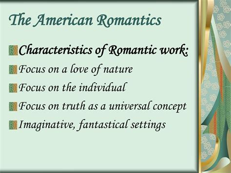 universal themes of the scarlet letter ppt hawthorne romanticism the scarlet letter and