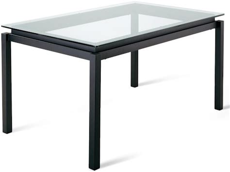 amisco glass dining table amisco tables amisco contemporary robert dining table with