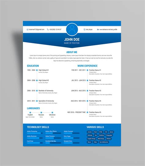 What Is A Resume Cv File by Free Simple Resume Cv Design Template Ai File Resume