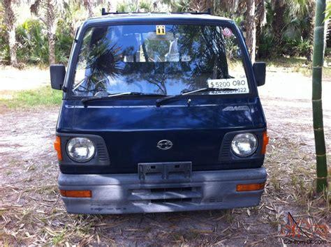 subaru sambar mini truck 1987 subaru sambar mini truck 4x4 kei japanese pick up truck