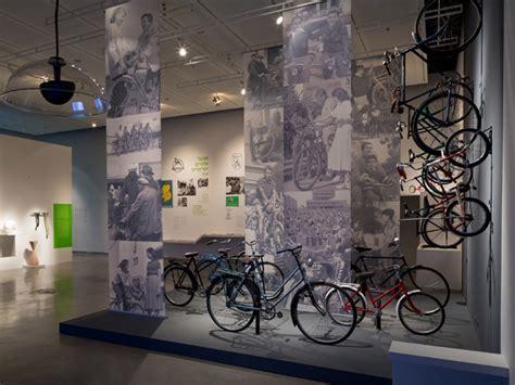 bike exhibition design museum london iconic bicycle design free wheel exhibition at design