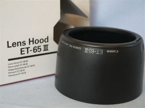 Lens Et 65iii Et 65 Iii For Canon Ef 85mm F 1 8 Usm mint canon et 65iii lens boxed 4 99