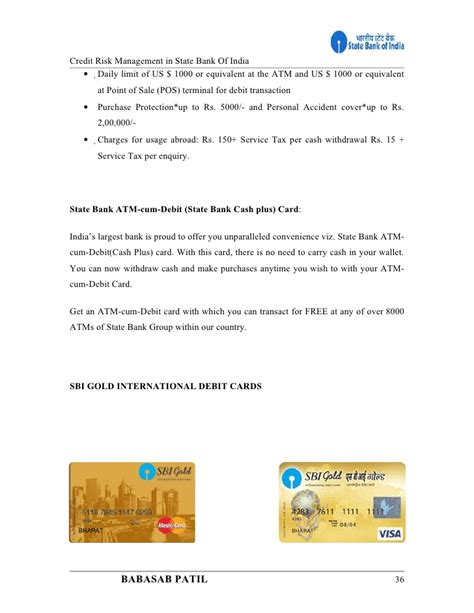 Project On Bank Of India Mba by Credit Risk Management State Bank Of India Project