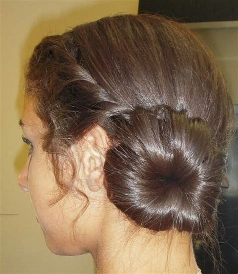 cute hairstyles for junior bridesmaids junior bridesmaid hairstyle bun twist braid my art