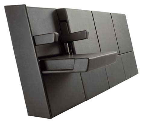 folding home theater seats minimalist by lamm
