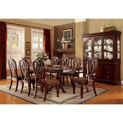coffee table cherry dining room sets traditional design harwinton traditional cherry finish dining table set