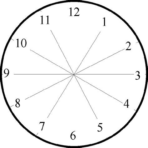 printable clock face without hands digital clock clipart cliparts co