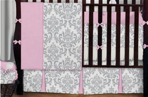 Black And White Damask Crib Bedding Black And White Bedding Ideas