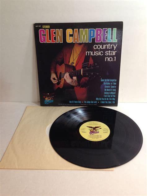 glen cbell country music star no 1 glen cbell country music star no 1 vintage vinyl