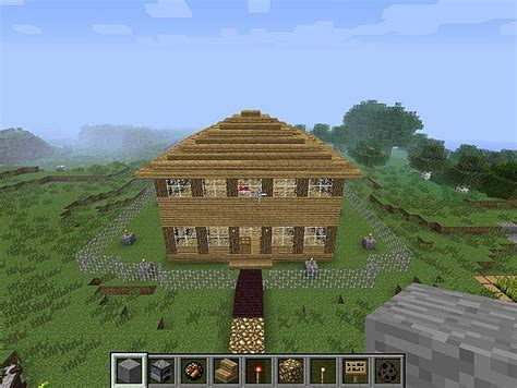 mc house mc house with garden and more minecraft project
