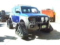 canadian geo tracker on tracks they look home built, and