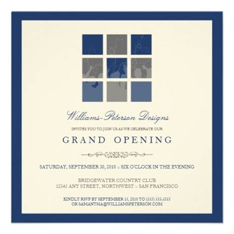 business open house invitation template 10 best business open house images on grand