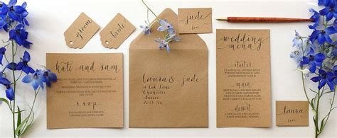 Wedding Stationery Uk by When To Order Wedding Stationery Diy The Shelf Or