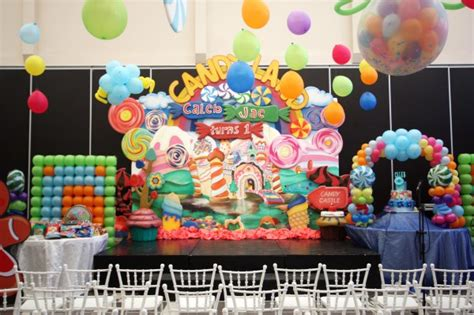 themes kiddie party caleb s candyland birthday hanging gardens events venue