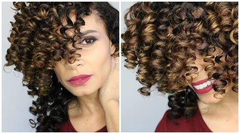 how to prepare hair for a perm our everyday life natural hair perfect curls using small perm rods on long
