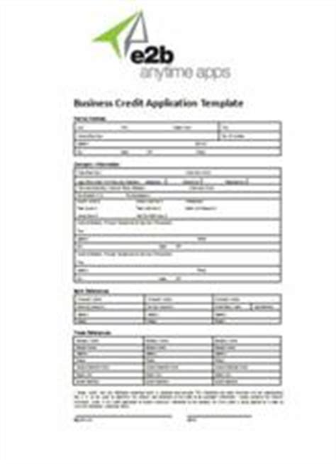 Credit Application Form Template Uae Business Credit Application Form From E2b Anytime Apps Helps Companies Minimize Business Credit