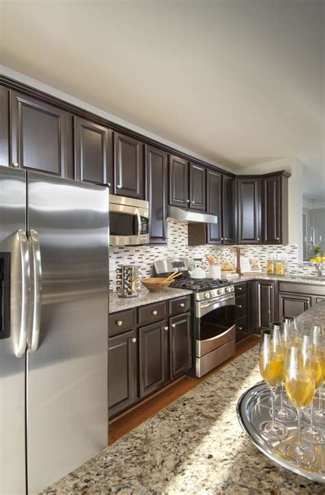 ryan homes cabinets granite stainless steel