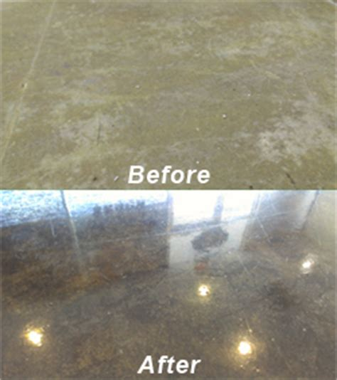 Refinish Concrete Floor by Concrete Steam Cleaning Houston S Concrete Restoration