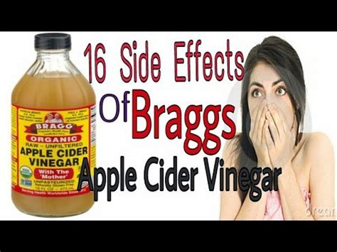 Vinegar Detox Side Effects by Best 25 Braggs Apple Cider Ideas Only On
