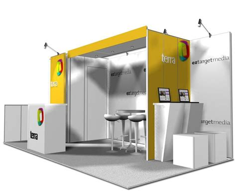 Fliese 10 X 20 by 10x20 Trade Show Booth Ideas Custom Exhibits