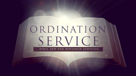 baptist church ordination