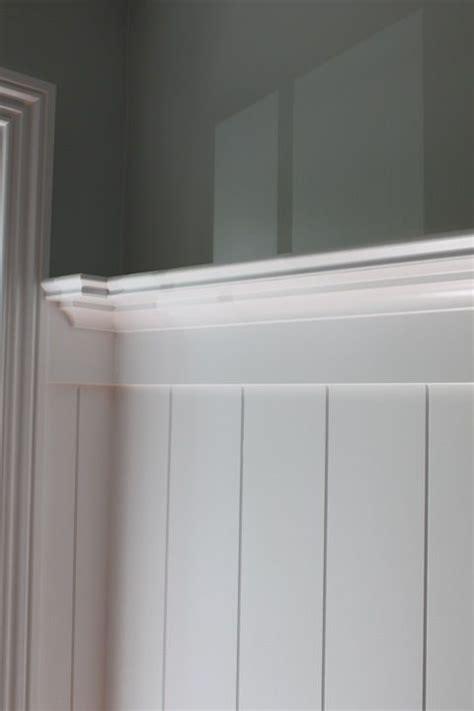 v groove beadboard dining room wall treatment idea a plate rail assembly