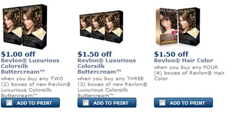 revlon hair color coupons 24dealz revlon printable coupons july and august 2013