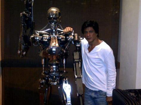 film robot sharukhan shahrukh khan the filmfare robot xcitefun net
