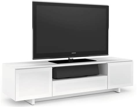White Gloss Tv Stand Cabinet by Bdi Nora 8239 W Tv Stands
