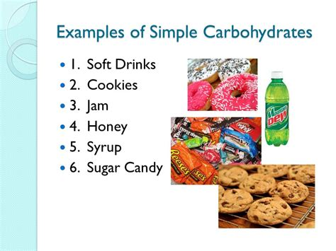 8 types of carbohydrates carbohydrates ppt