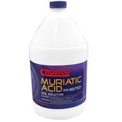 crossco 1 gal muriatic acid 31 inhibited floor