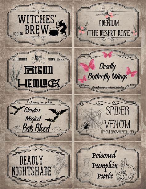 Printable Gram Labels
