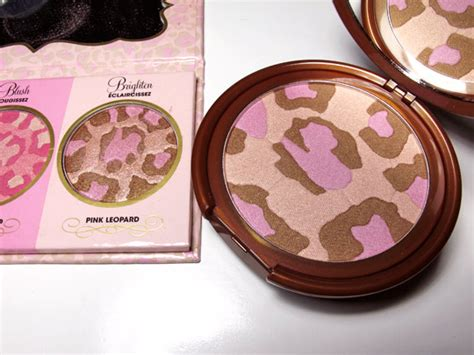 Faced Pink Leopard Bronzing Powder by This Is The Story Of Nyx With Bronzing Powder In