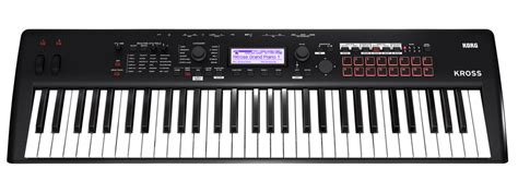 Keyboard Korg Pa 700 korg launch 2 synth new digital piano and arranger keyboards