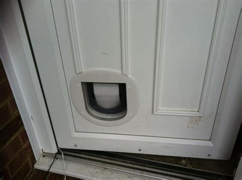 Cat Flap Fitted In Glazed Door by Cat Flap Fitted In Glazed Door 30 000 Garage Door