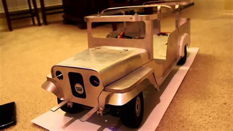 rc jeepney  scale  scratch build  progress