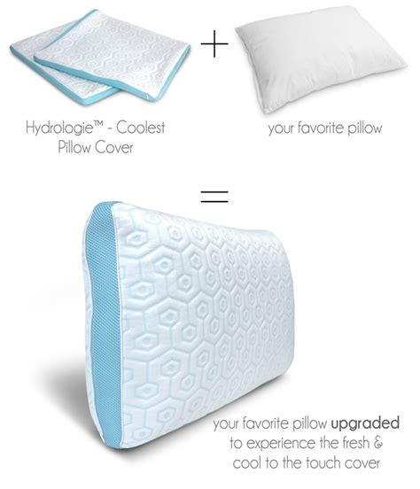 Pillow That Keeps Your Cool by A Pillow Cover Set Designed To Keep Your Cool