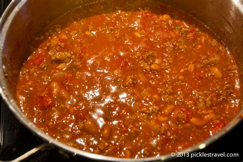 spicy chili recipe one pot meals