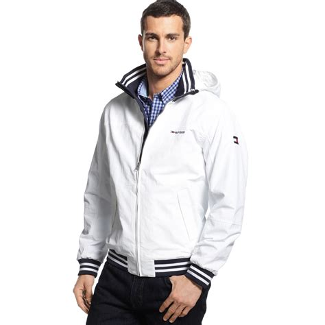yacht jacket tommy hilfiger lyst tommy hilfiger team yacht jacket in white for men
