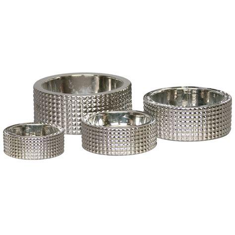 designer dog bowls berlin studded silver dog bowl designer dog bowls at glamourmutt com