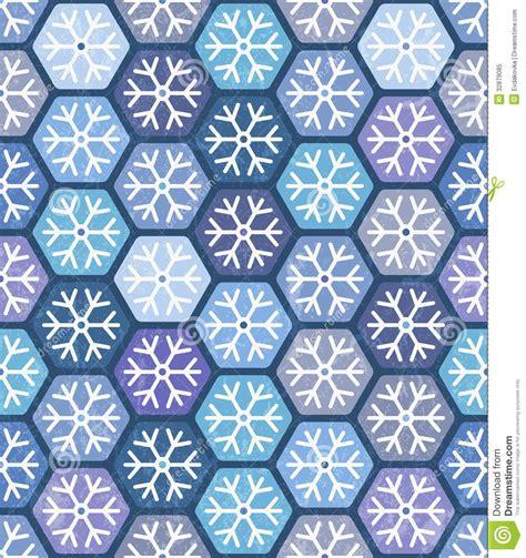 Snowflake Geometric Pattern   seamless geometric pattern with snowflakes royalty free