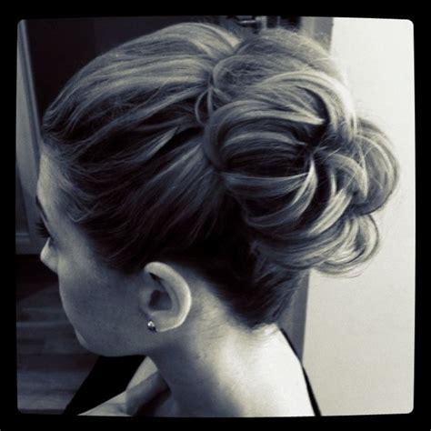 bridal hairstyles messy bun messy high bun wedding bridal hair bride wedding fashion