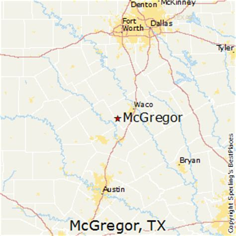 best places to live in mcgregor
